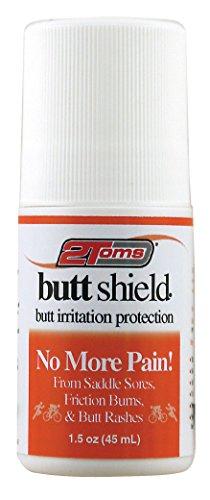 2Toms Butt Shield Skin Care Roll-On Scheuern Schutz Weiß weiß 1.5 oz Personal Shield