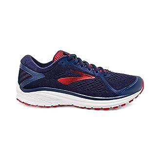 Brooks Men's Aduro 6 Running Shoes, Blue (Navy/Cherry/White 416), 6.5 UK
