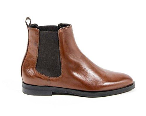 Versace 19.69 Stiefeletten Damen/Damen-Bootsschuhe Fersen 2.5 cm 100% Kalb Leder