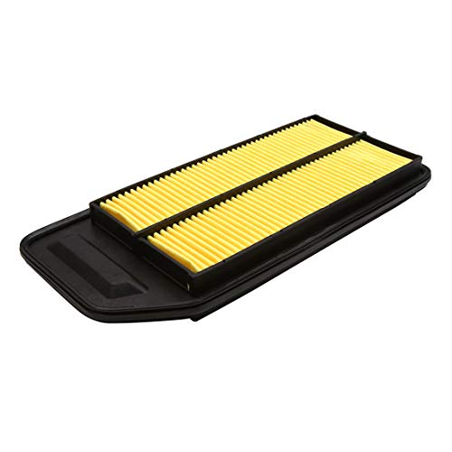 sourcing map 17220-RAA-Y00 Nettoyant Filtre Admission Air Jaune 2003 pour Accord 2.4L 2.0L