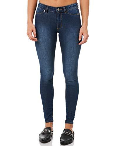 Cheap Monday Damen Jeans Super Skinny Fit Blue (82) 26-27