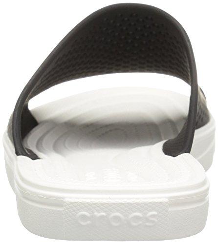 Crocs Citilane Roka, Tongs homme Black/White