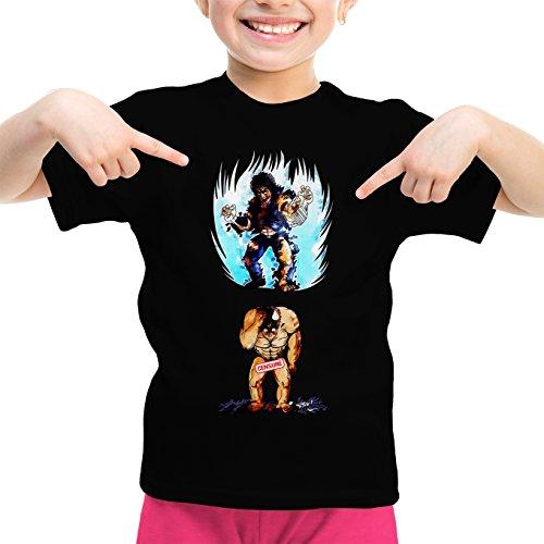 T-Shirts Hokuto No Ken - Ken Le Survivant parodique Kenshiro : Trop de Puissance. !!! : (Parodie Hokuto No Ken - Ken Le Survivant)