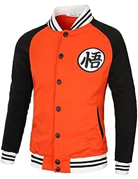 PIZZ ANNU Dragon Ball Wu Palabra de béisbol uniforme de la chaqueta