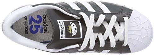 adidas Originals Superstar Nigo, Chaussures de Skateboard Mixte Adulte Noir - Schwarz (Core Black/Ftwr White)