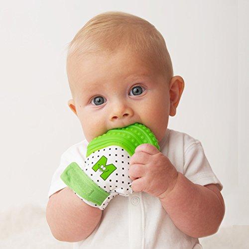 mouthie-mitten-moufle-mitaine-de-dentition-en-silicone-vert