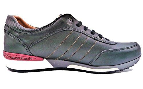 KangaROOS  Kanga 411-11, Herren Sneaker schwarz Schwarz 40 Schwarz
