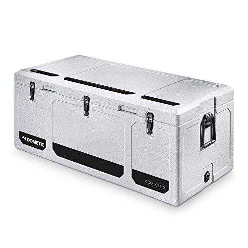 Dometic COOLICE WCI 110 - hochwertige Passiv-Kühlbox, Mini-Kühlschrank, Ideal für Angler und Jäger, Eis-Box in Heavy-Duty-Qualität, 111 Liter
