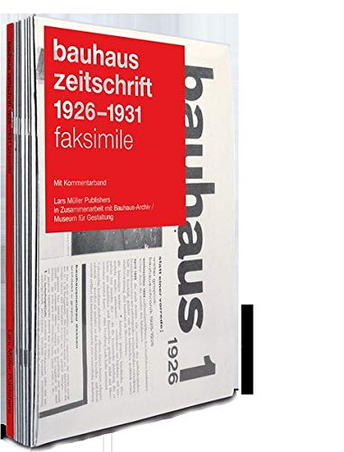bauhaus zeitschrift 1926 - 1931:...