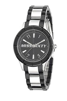 Miss Sixty Smally SG8001 - Reloj analógico de cuarzo para mujer, correa de acero inoxidable multicolor