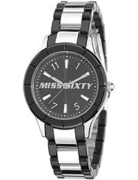 Miss Sixty Damen-Armbanduhr XS Smally Analog Edelstahl SG8001