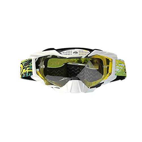 Anyeda Sportbrillen für Fahrräder Unisex PC Schutzaugen Sicherheitsbrille Uv Schutz Transparentes Gelb