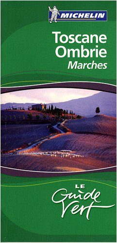 Guide Vert Toscane Ombrie Marches