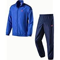 Adidas Herren Präsentationsanzug Tentro KN TS Trainingsanzug Blau//Schwarz Neu
