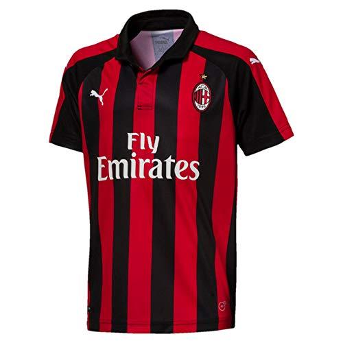 PUMA AC Milan Home Replica SS with Sponsor Logo Jersey