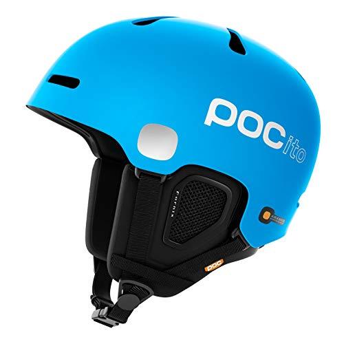 POC POCito Fornix Skihelm, Fluorescent Blue, Medium/Large