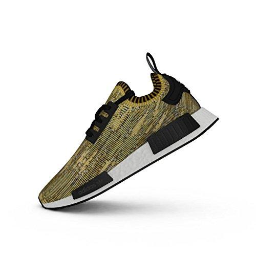 adidas Originals NMD Runner Primeknit Yellow/Gold Camo Men's US Size 6.5