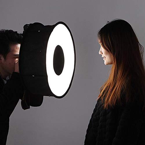 Lorenlli Ring Softbox Speedlight Rundes Stil Blitzlicht Schießen Softbox Faltbare Soft Flash Light Diffusor Kameras