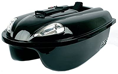 Waverunner Atom MK3 Carp Fishing Bait Boat 1 Hopper 12v DC 4 Channel 40Mhz Running Time 1.5 hours by Waverunner