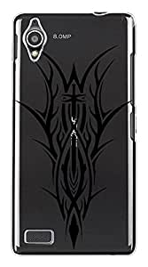 WOW Transparent Printed Back Cover Case For Gionee Elife E5