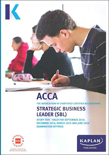 STRATEGIC BUSINESS LEADER - STUDY TEXT