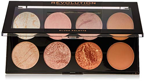 MAKEUP REVOLUTION Ultra Blush Palette Golden Sugar, 13 g