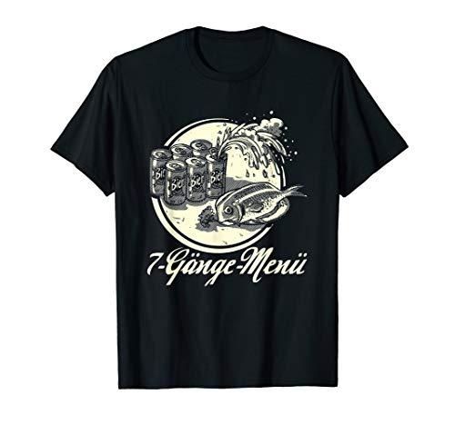 Männer-Geschenk für Angler: Sieben Gänge Menü - T-Shirt - Gang Green T-shirt
