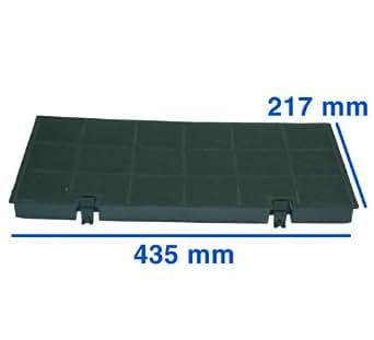 Kohlefilter 435x217mm, passend zu Geräten von:AEG Alno-Küchen (Zanussi Whirlp...