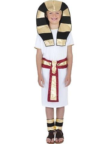Jungen Kostüm ägyptische junge ägyptische Pharao Kostüm King Tut 4-12 Jahre (King Tut Kostüm Kind)