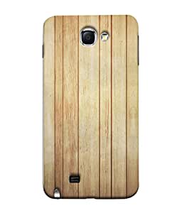 PrintVisa Designer Back Case Cover for Samsung Galaxy Note 2 :: Samsung Galaxy Note Ii N7100 (Linear Design Of Wood)