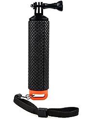 Racksoy Wasserdicht Aufschwimmende Griff Halterung Stange Flotieren Stick für Gopro Hero 5, 4, 3+, 3, 2, 1 und Action Cam, Sport Kameras usw.