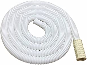 Neerjharini Universal Top Loading Semi Automatic Washing Machine Cold and Hot Water Plastic Inlet Hose Extension Air Conditioner Drain Pipe, 3m