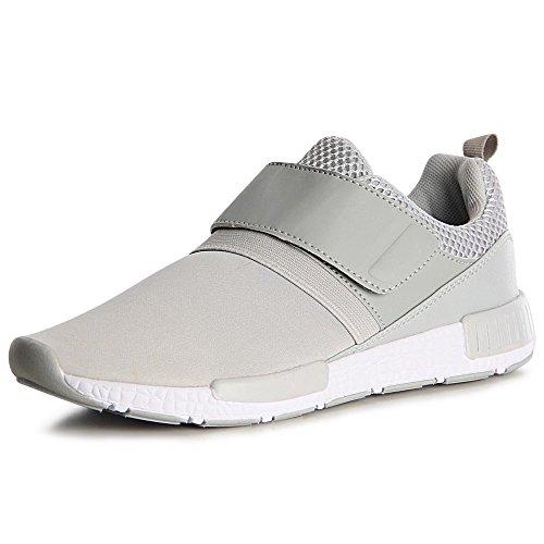 topschuhe24, Sneaker donna Grau