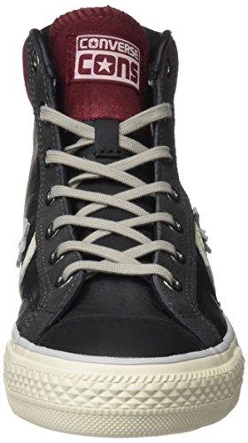 Converse 155135c, Baskets Hautes Homme Noir (Black/c.truffle/turtledove)