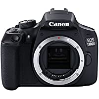 Canon EOS 1300D DSLR Camera - Black