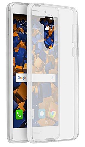 mumbi UltraSlim Hülle für Huawei Honor 6X Schutzhülle transparent (Ultra Slim - 0.70 mm)