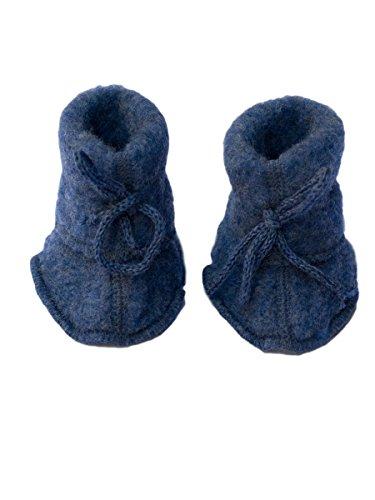 Engel Baby Schühchen, Chaussures premiers pas pour bébé (fille) - bleu - Taille unique