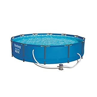 Piscina Desmontable Tubular Bestway Steel Pro 366×76 cm