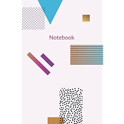 Notebook: Pretty Minimal Design Journal | 120-Page Blank Page Minimal Pattern Notebook | 6 X 9 Perfect Bound Paperback