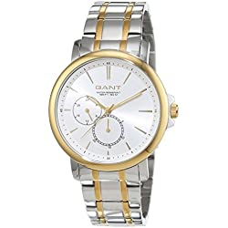 Gant Damen-Armbanduhr LAUDERDALE Analog Quarz Edelstahl beschichtet W70484