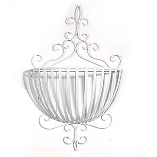 MJK Estantes de plantas, dormitorio de estilo europeo, pared decorada, cesta de flores, maceta, decoración, flor, estante, maceta, estante, para uso en interiores y exteriores, jardín