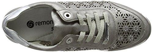 Remonte Damen R7004 Sneakers Grau (altsilber/Argento / 90)