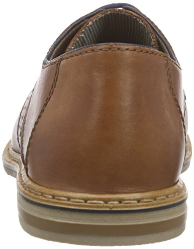Rieker14525 Lace-Up-Men - Scarpe stringate Uomo Marrone (Braun (brandy/navy / 24))