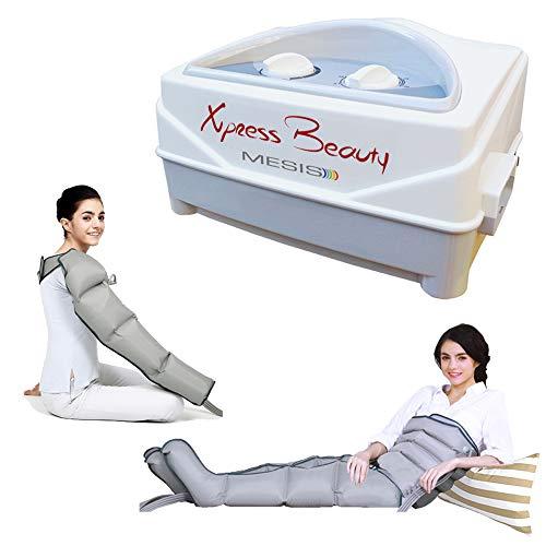 Mesis Xpress Beauty avec Appareil de massage 2 leggings + Kit Slim Body + 1 bracelet | massage intense sur les jambes, l'abdomen et le bras