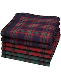 Betz Juego de pañuelos de tejido para caballeros LORD 1 100% algodón 43x43 cm diseño 32