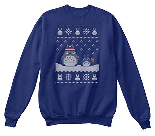 men / Herren / Unisex von Teespring | Originelles Outfit für jeden Anlass und lustige Geschenksidee - SANTA-TOTORO CHRISTMAS SWEATER (Lustige Santa-outfits)