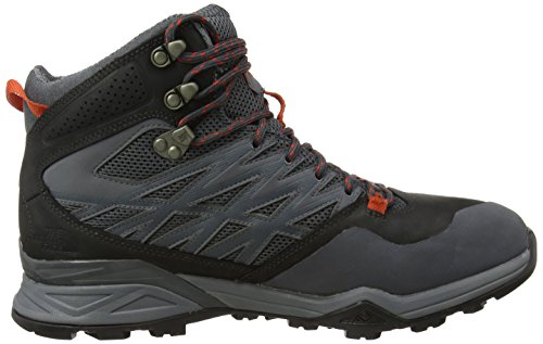 The North Face Hedgehog Hike Gtx Mid, Chaussures Bébé marche homme Gris (Dark Shadow Grey/Zion Orange Aps)