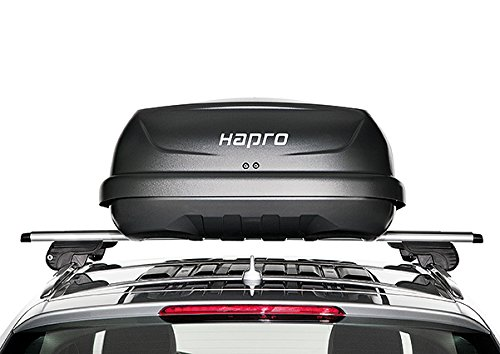 Hapro Traxer 6.6 Dachbox, 410 Liter, Grau-Anthrazit