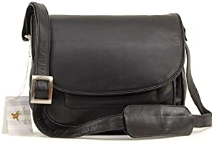 VISCONTI - ATLANTIC - 2195 - Bolso bandolera con solapa / Bolso de mano - Cuero de Visconti