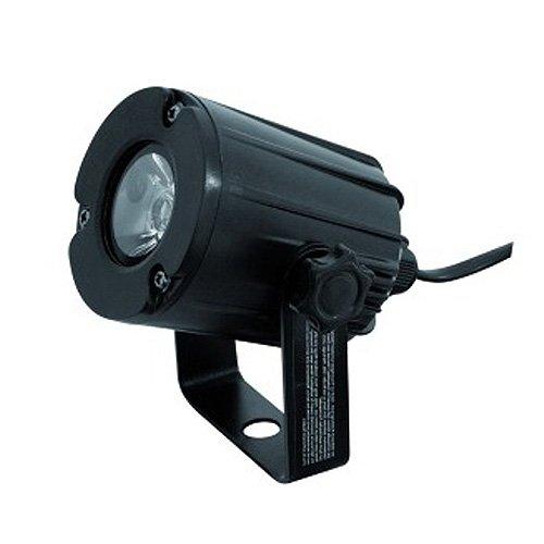 Eurolite LED PST-3W 6000K Spot | Eng abstrahlender Pinspot mit 3-Watt-LED in Kaltweiß | Zur Beleuchtung von Discokugeln und Spiegelkugeln geeignet | Gebündeltes Licht